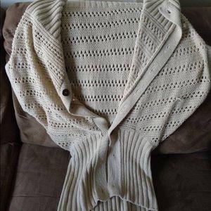 Sweaters - Women cardigan turtle neck
